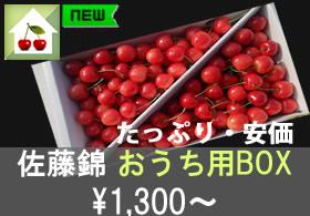 「佐藤錦」おうち用お得BOX