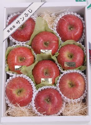 りんご「ふじ」蜜入り贈答用